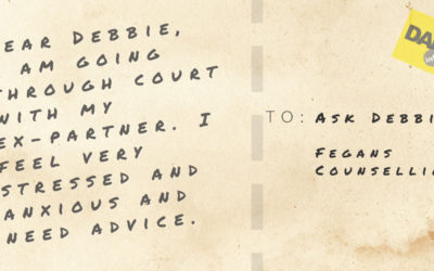 ASK DEBBIE- I'm anxious about court