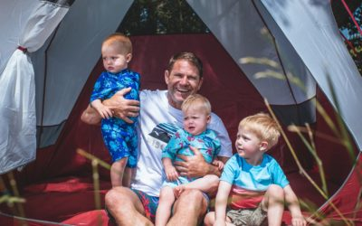 Steve Backshall's Tips For Camping With The Family