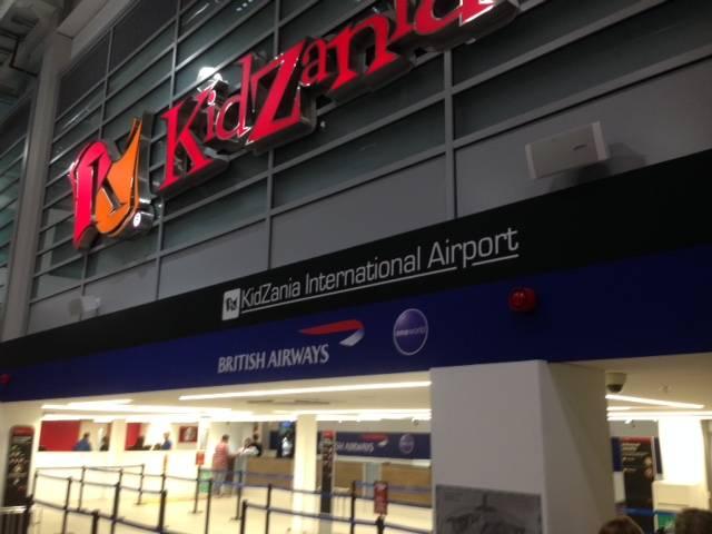 It's not an airport, it's KidZania