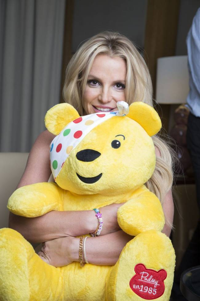 Last year's Children In Need campaign has broken records after raising £60 million to support young people in the UK. Image: Gary Moyes/BBC/PA