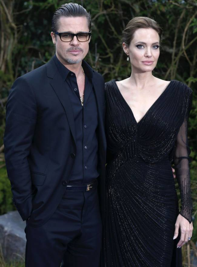 Angelina Jolie says she and estranged husband Brad Pitt are now focusing on the health of their family. Image: PA News