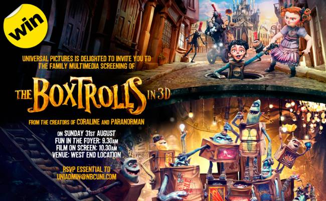 Boxtrolls Competition