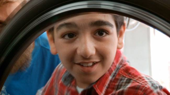 This is Ahmad, a Syrian refugee living in Bristol who appears in the CBBC programme My Life: New Boys In Town. Image: BBC/Drummer TV/PA