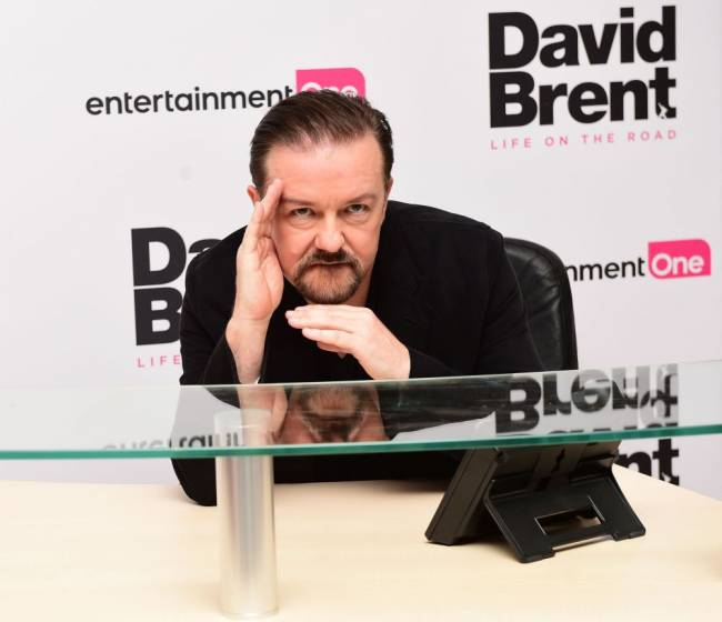 Ricky Gervais attending the world premiere of David Brent: Life On The Road. Bad bosses generally come in one of two forms: dysfunctional or dark, psychologists say, and a prime example of the first kind is David Brent from popular sitcom The Office. Photo credit: Ian West/PA Wire