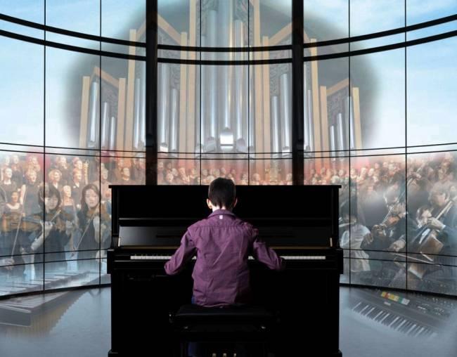 Yamaha TransAcoustic Piano. Image: Press Association