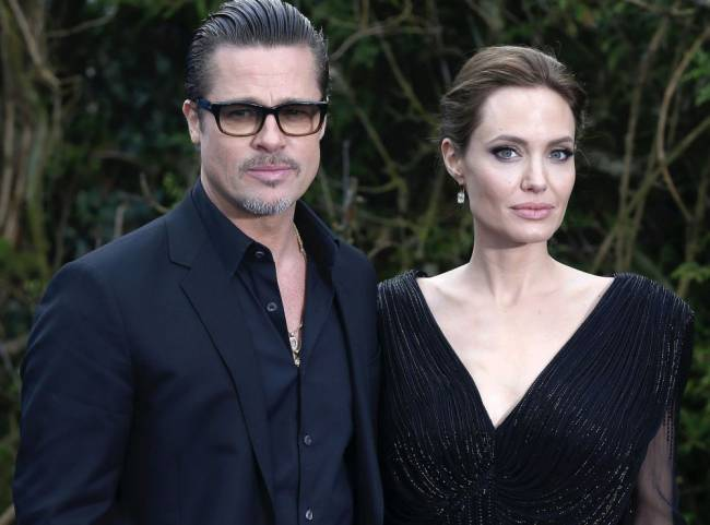 News that Hollywood's golden couple were splitting up caused shockwaves around the world. Image: Justin Tallis/PA Wire
