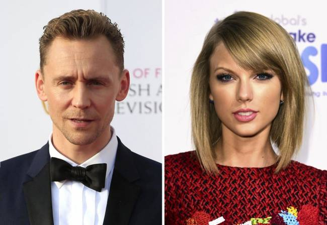 Tom Hiddleston and Taylor Swift, who embarked on a whirlwind romance in the summer. Image: PA Wire