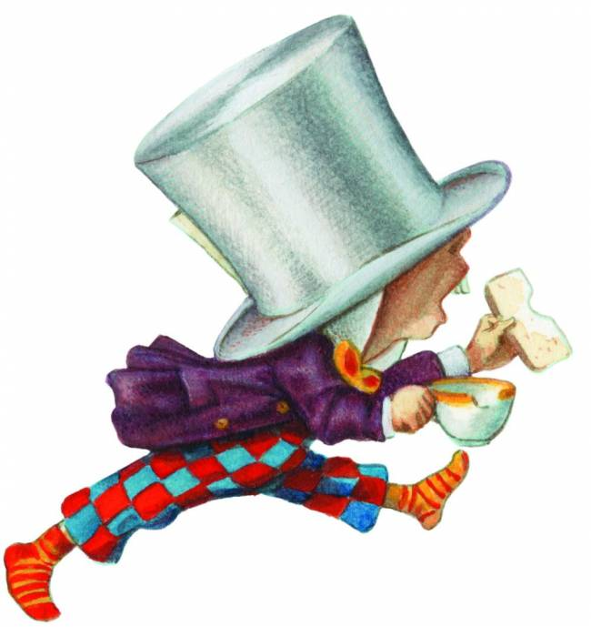Time for tea: Alice's Mad Hatter