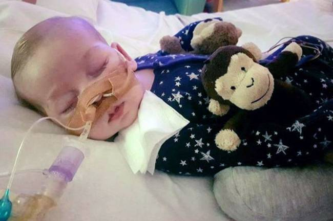 Doctors can stop providing life-support treatment to the sick baby, Court of Appeal judges have ruled. Image: Family handout/PA Wire