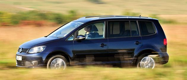 The Volkswagen Touran is the sensible choice, with a saving of £3,842.