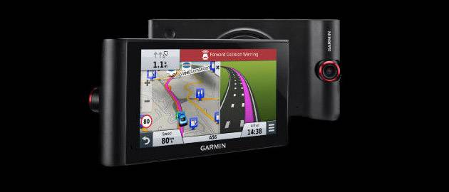 Garmin's new NuviCam combines sat-nav, dashboard camera and safety technology.
