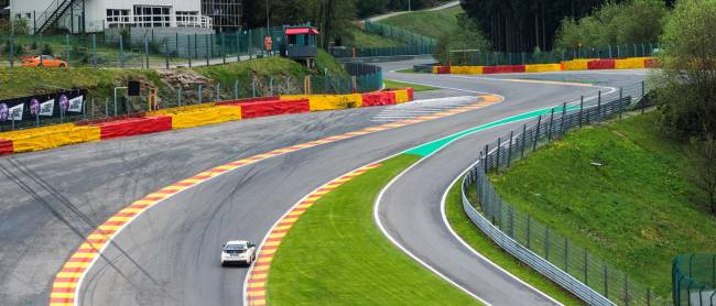 Rob Huff - no relation - took on the challenge of Spa-Francorchamps