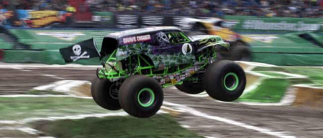 Grave Digger's been doing this for more than 25 years! [Image © Gus Preston]