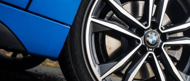 BMW X2 Wheel Detail
