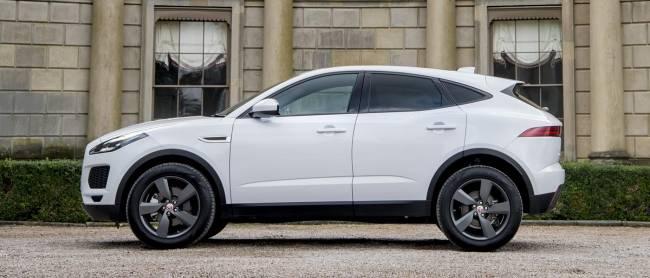 The Jaguar E-Pace.