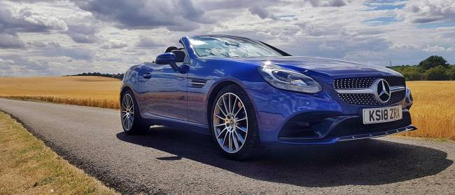 Mercedes SLC from Europcar