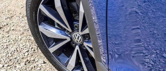 Volkswagen T-Roc Wheel Detail