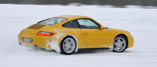 Some winter driving is good fun...