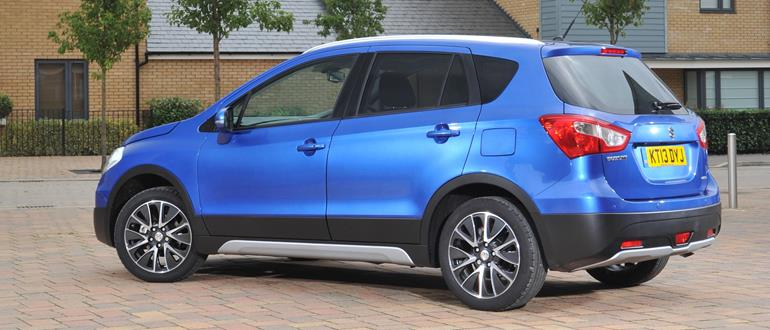 The S-Cross is as spacious as its biggest rival, the Nissan Qashqai.