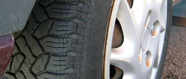 Cracked tyres a serious issue for caravan owners