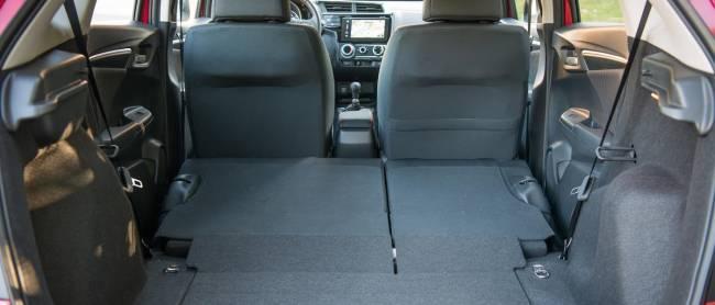 The Honda Jazz Sport Magic Seats.
