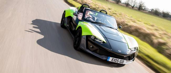 Yours truly driving the Zenos E10 S