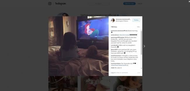 Image: Tamara Ecclestone Rutland/Instagram