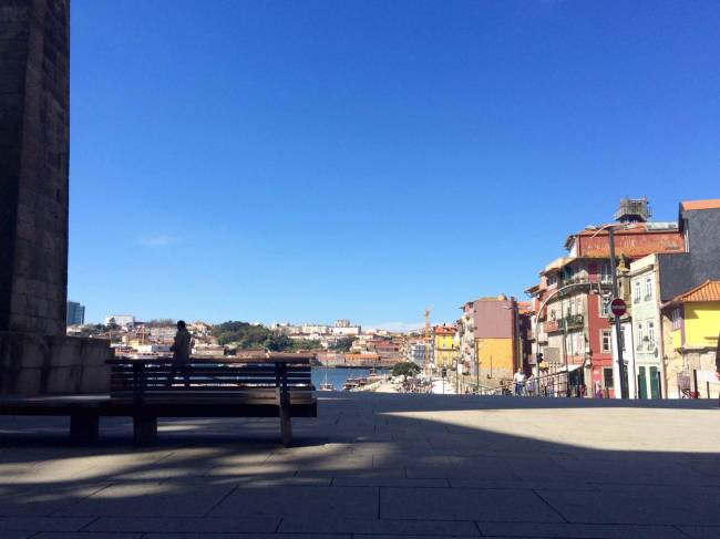 Colour blindness was rife in Porto. Image: Phil Mundy