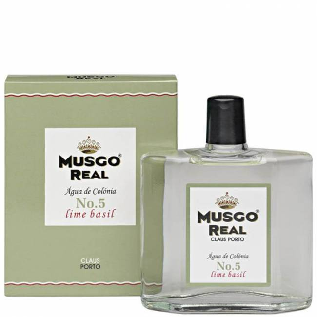Musgo Real Cologne No.5 Lime Basil