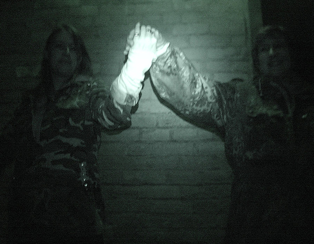 Guests particularly frightened of ghosts disguise themselves as foliage to evade demonic detection | Image: James Draven