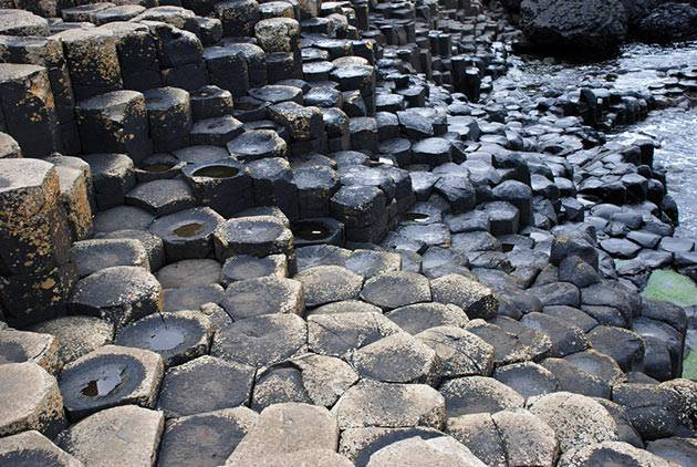 The Giant's Causeway in Northern Ireland, though not in Game of Thrones   Image: ingimage