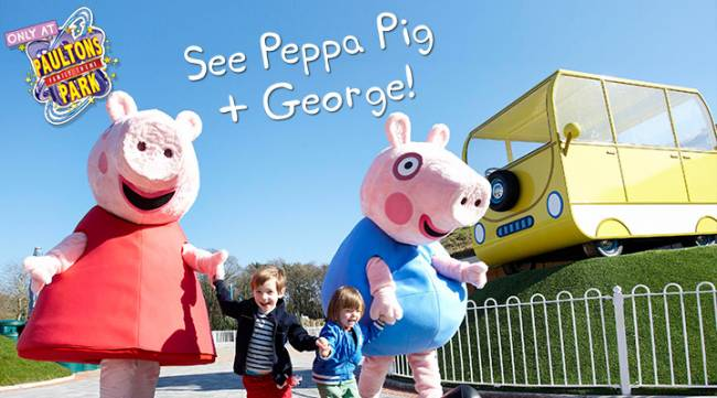 Sure, people stared at Peppa and George's non-pig children, but they loved them regardless