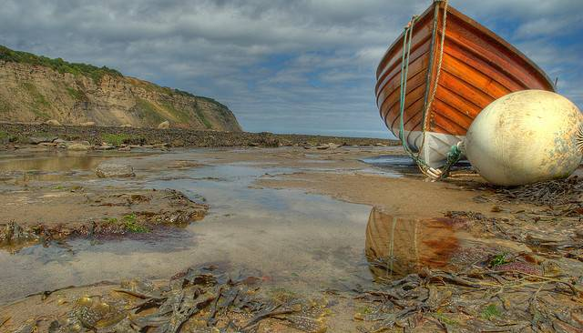 The kids just loved days at the beach with their pet boat | Image: Thomas Tolkien