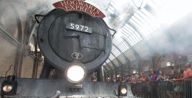 The Hogwarts Express | Image: Universal Resort Florida