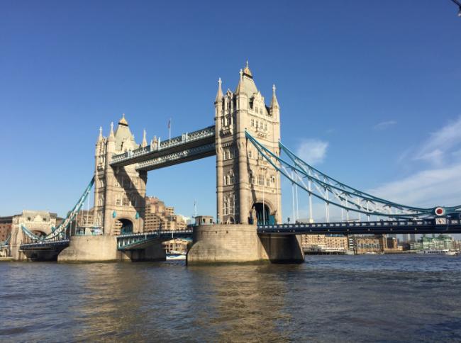 Tower Bridge, yesterday