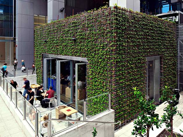 A building so trendy it has its own hipster beard | Image: Greenhouse Perth