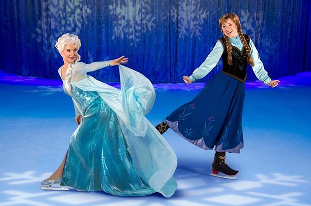 A gust of Arctic wind ripples through Elsa's dress | Image: Disney