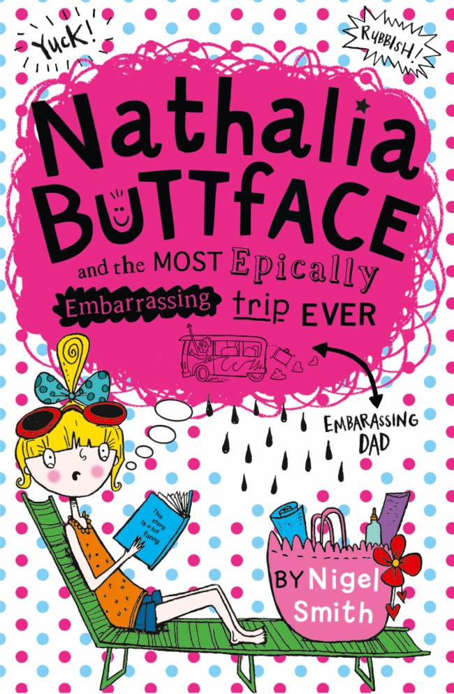 Nathalia Buttface could teach Harper Beckham a thing or two about embarrassing dads