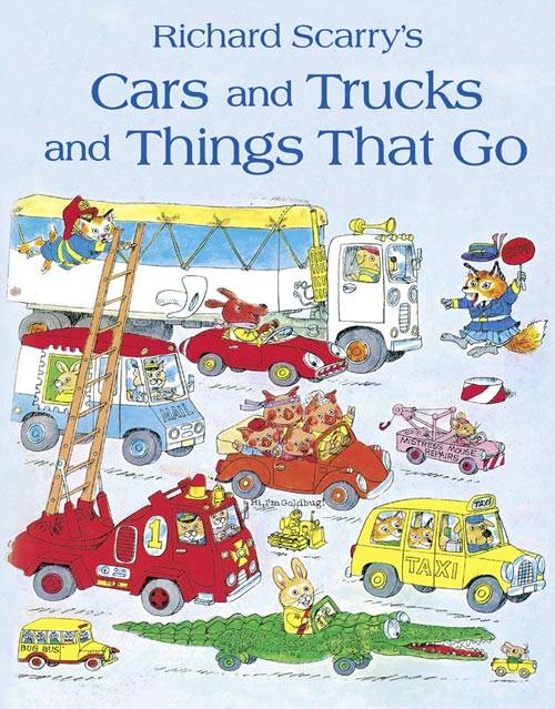 Get up and go with Richard Scarry