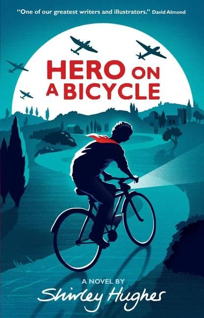 Shirley Hughes' debut novel, Hero on a Bicycle