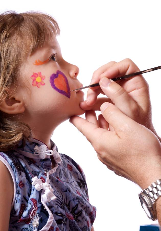 Get Creative With Non Toxic Face Paint