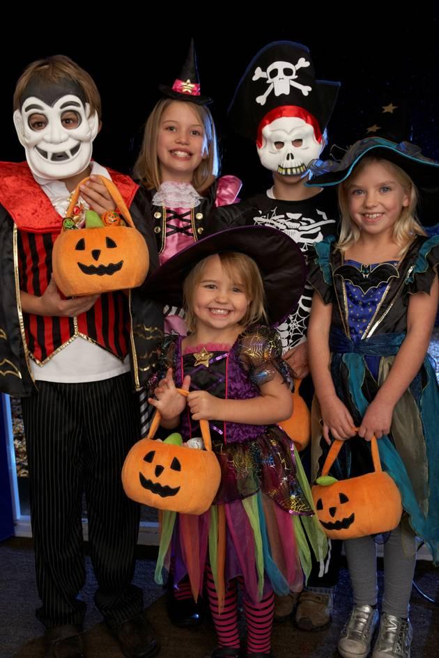 Make Halloween Costumes Fun & Bright