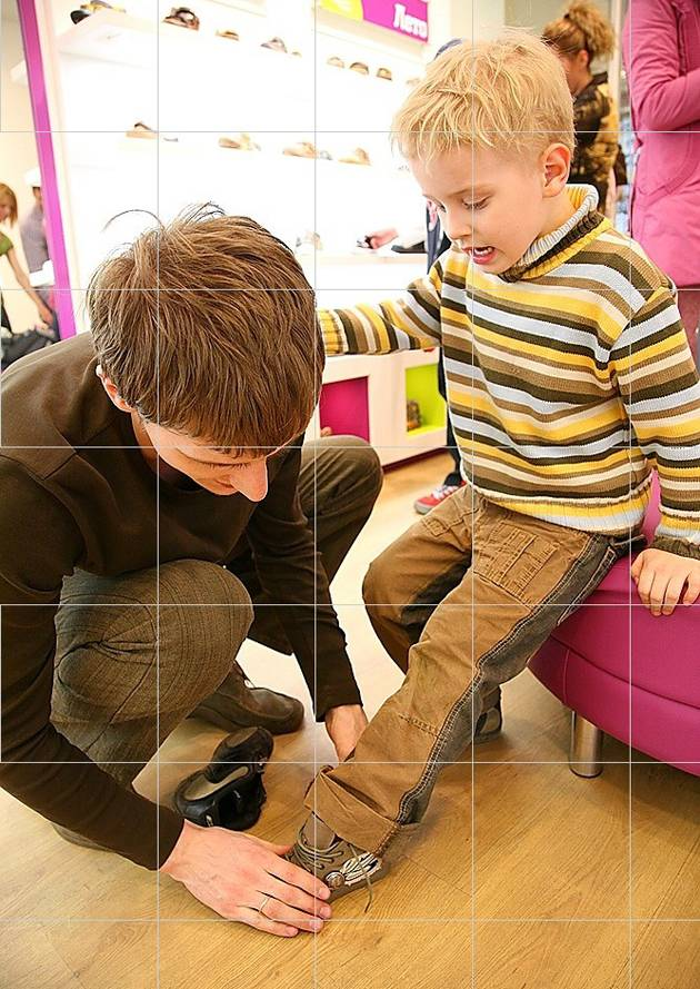 Get your kids feet measured regularly