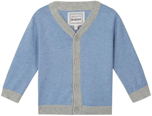 Blue Knit Cosy Cardigan