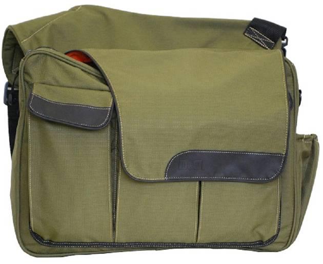 DIAPER DUDE MESSENGER BAG EXTERNAL