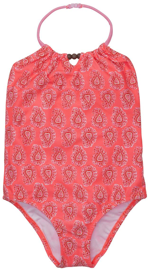 Indian Paisley Print With Sun Protection