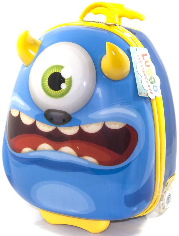 Luggo Monster Suitcase
