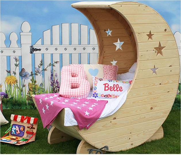 Sleep Amongst The Stars In The Junior Moon Bed