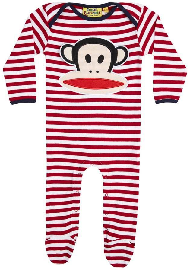 Stripe Action For Baby Monkeys