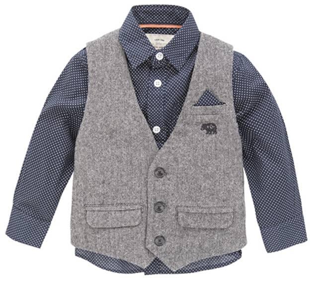Shirt & Waistcoat Set